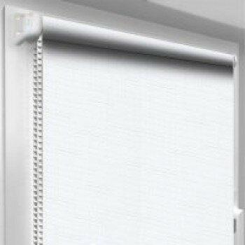 Рулонная штора однотонная  код 0009 ( цвет белый)