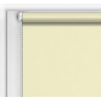 Рулонная штора однотонная  код 0011 ( цвет светлый беж)