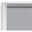 Рулонная штора однотонная  код 0012 ( цвет серый лен с текстурой)