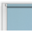 Рулонная штора однотонная  код 0014 ( цвет светлый голубой)