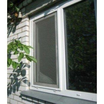 Москитная сетка на окно (белая) стандарт